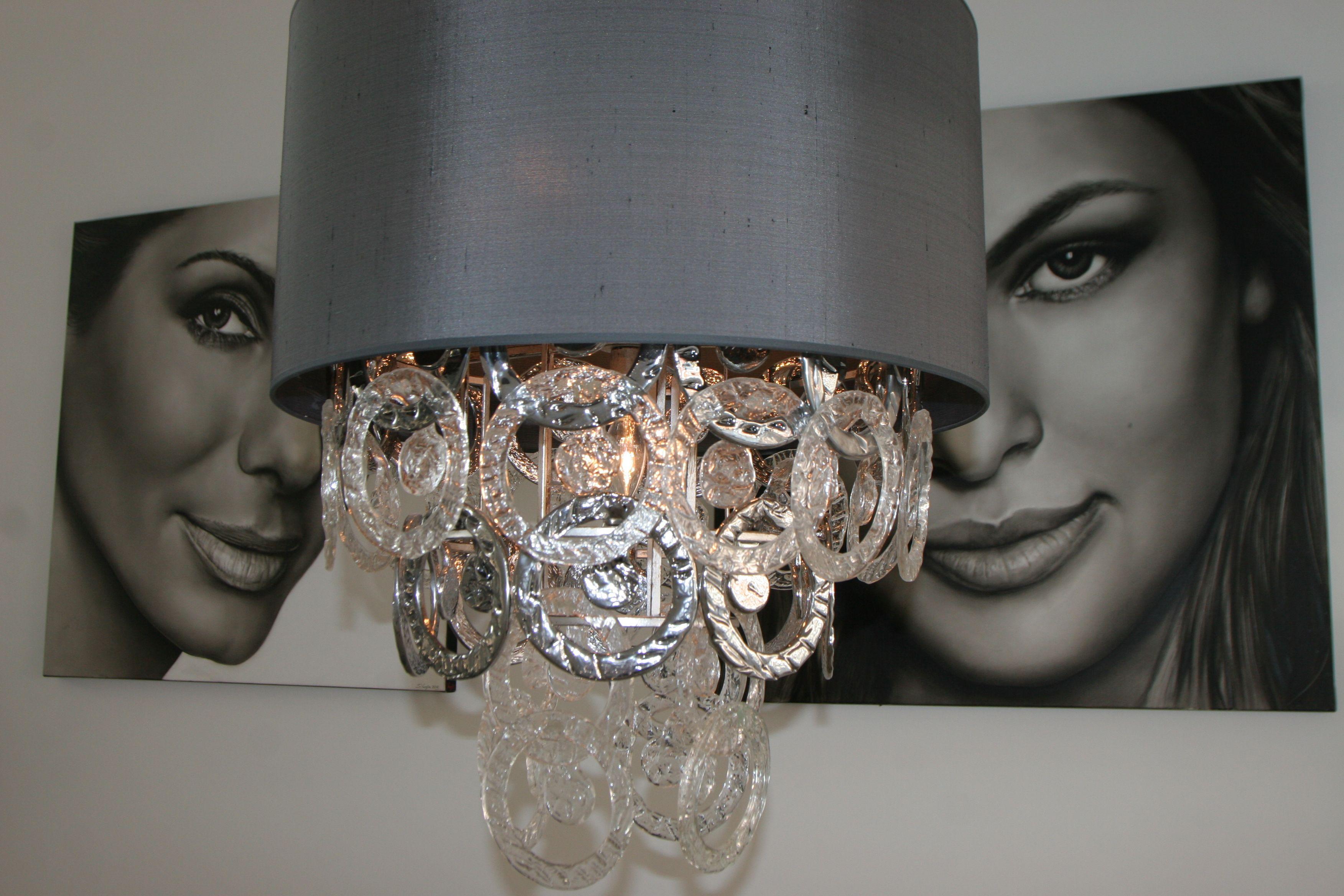 kunst van saskia vugts lamp van pieter adam