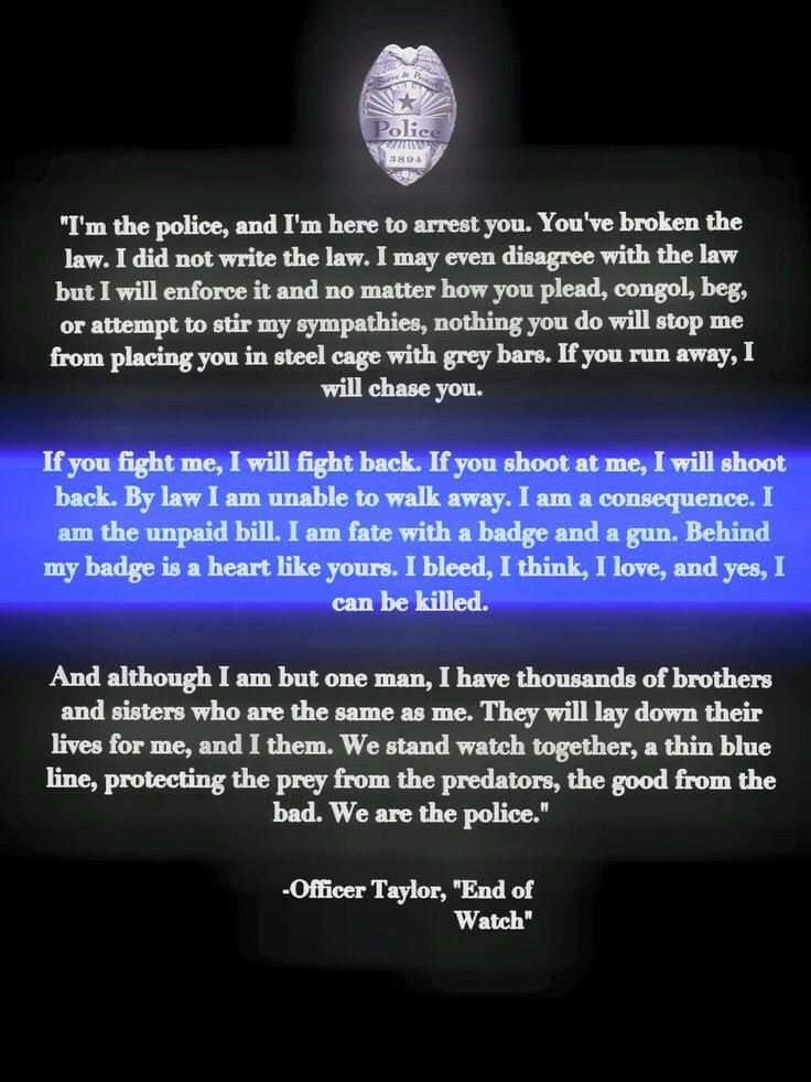 LindaSuhler | Cop stuff | Police quotes, Police wife life ...
