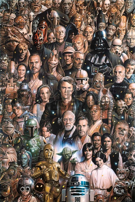 a mi me encanta la serie de pelicular star wars..