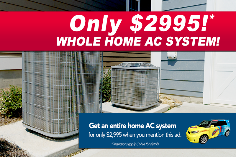 Air Conditioning Specials Air conditioning services, Air
