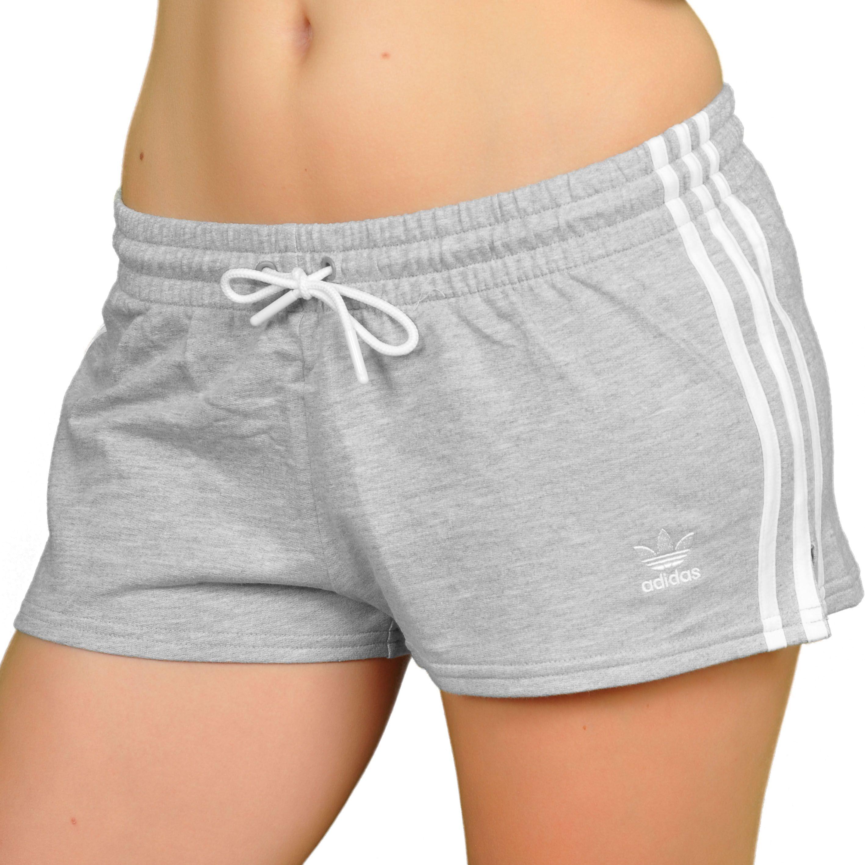 adidas basketball shorts for women | Adidas S 3 Stripes Short Women Hotpant  gray