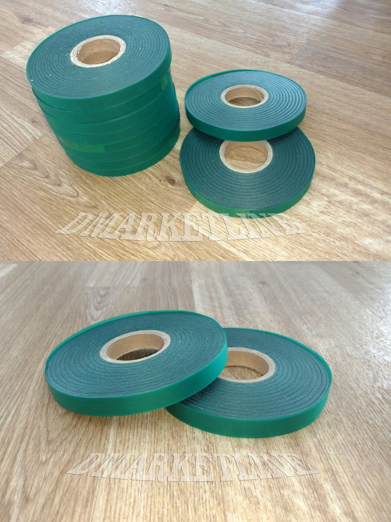 10 Rolls 4mil Each 300 Feet X 1 2 Stretch Tie Tape Plant Ribbon Garden Vinyl Plant Ties Vinyl Plants