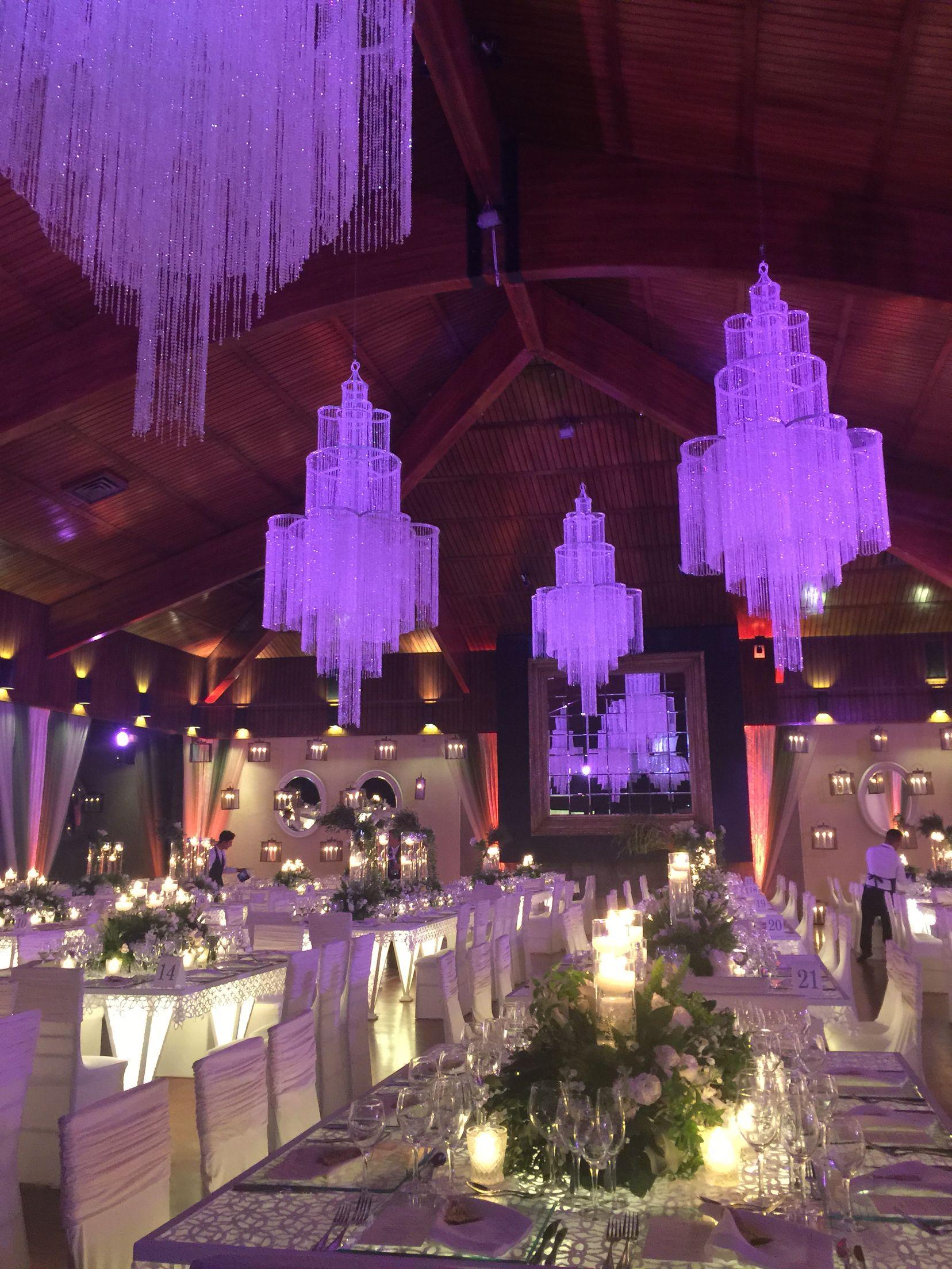 Una vista panormica del Saln Principal Wedding Planner Carolina