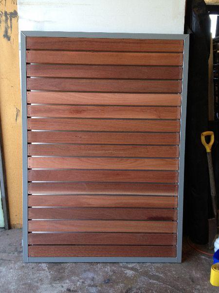 Image Result For Gate Galvanised Steel With Wooden Slats Yard Gate Timber Gates Wooden Slats