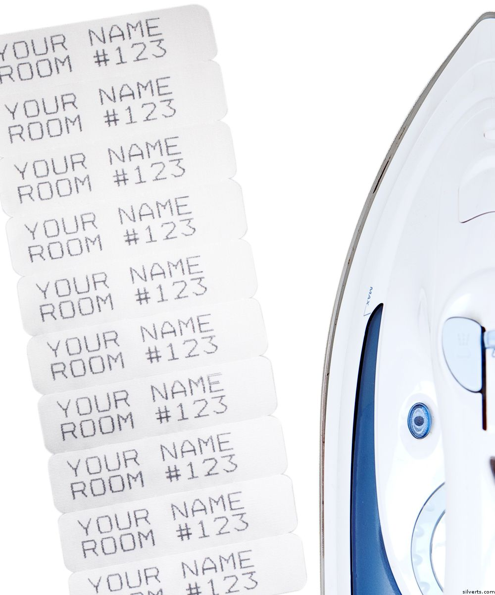 Name Labels Iron On Labels Name Labels How To Iron Clothes