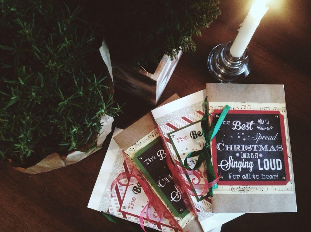 image relating to Printable Christmas Carols Booklet known as Totally free Printable Xmas Caroling Guide PDF Totally free Printables