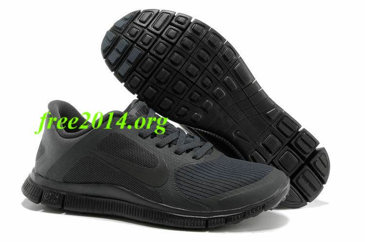san francisco 00afb ec135 13mN80 Womens Nike Free 4.0 V3 Anthracite Black Shoes ...