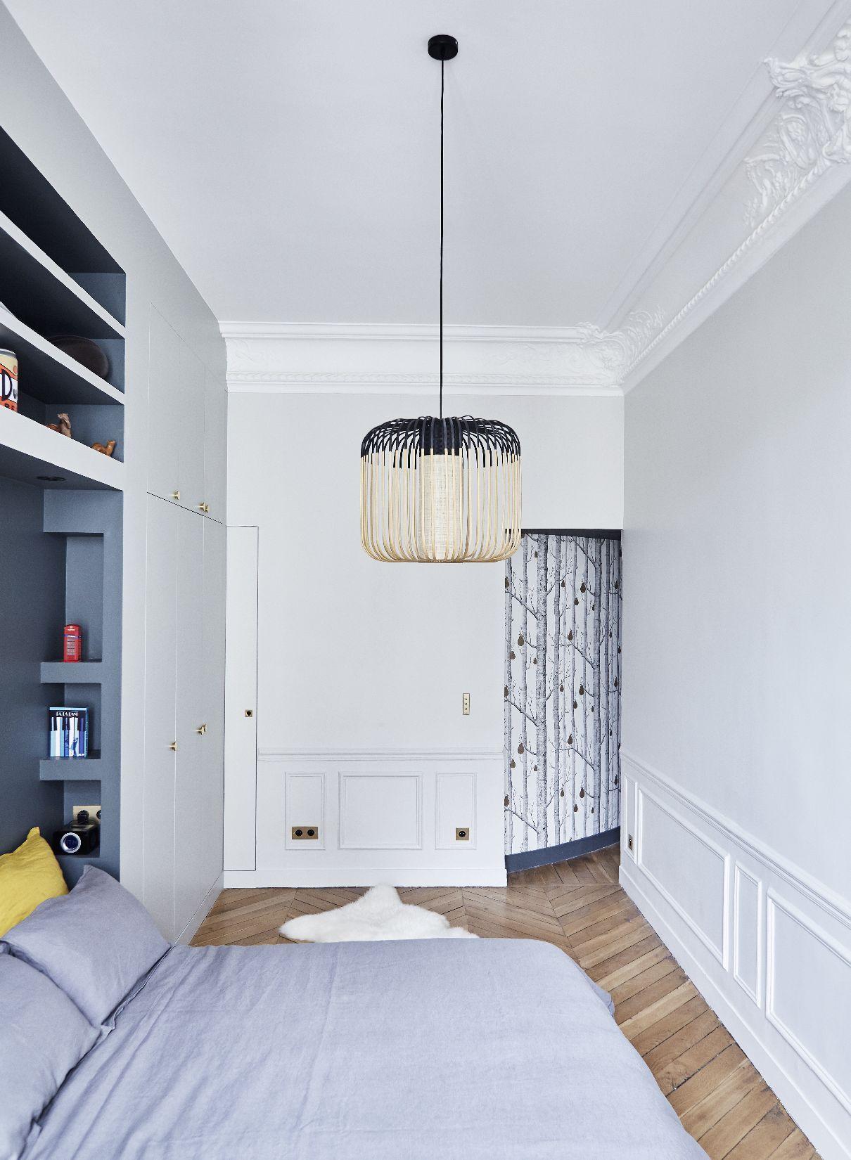 Chambre Appartement Parisien De 150m2 Gcg Architectes