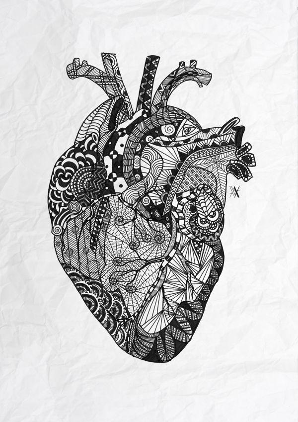 Zentangle Trend Design Creative Art Drawing Doodles