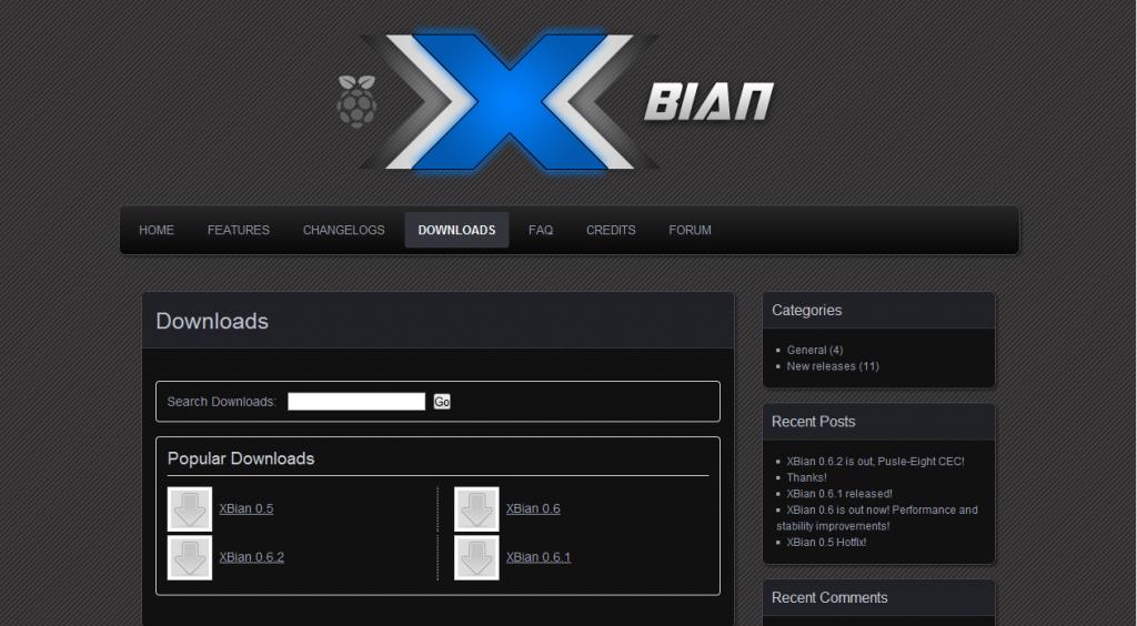 XBian Install Guide for the Raspberry Pi   http://htpcbuild.com/htpc-software/raspberry-pi-xbian/raspberry-pi-xbian-install/