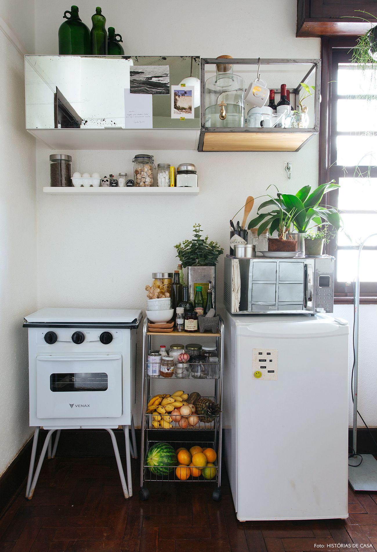 Quitinete Com Personalidade De Sobra Projetos De Cozinhas