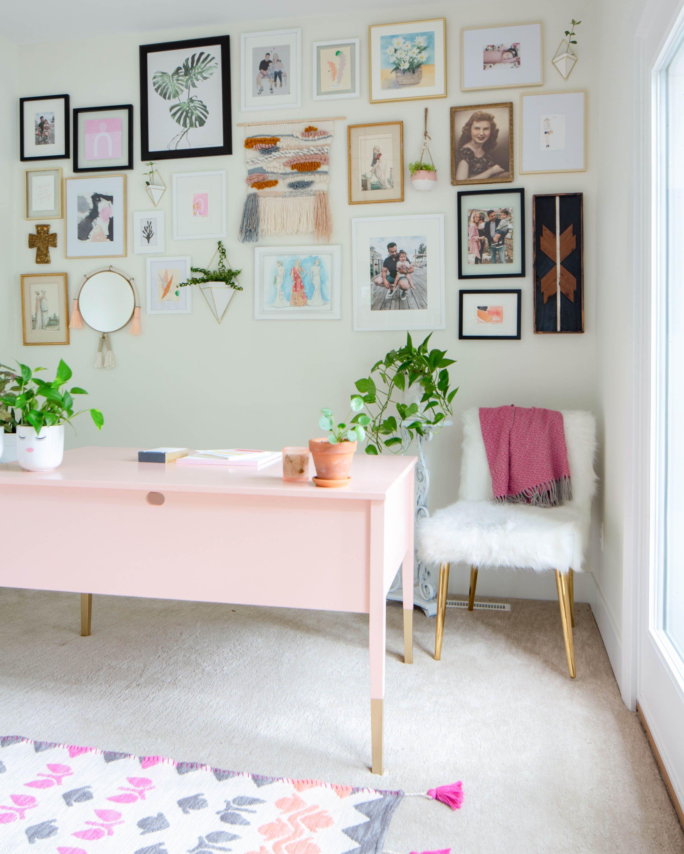 Feminine Home Office Reveal Feminine Home Offices Rich Home