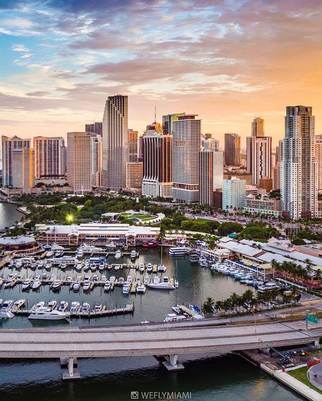 Downtown Miami #miami #florida #miamibeach #sobe #southbeach #brickell #Miami by @weflymiami