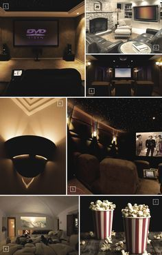 designs and ideas for a basement home theater basement home