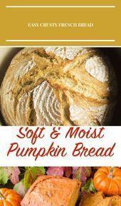 Pan francés fácil y crujiente: ¡esta receta simple de pan casero seguramente será un éxito! … –
