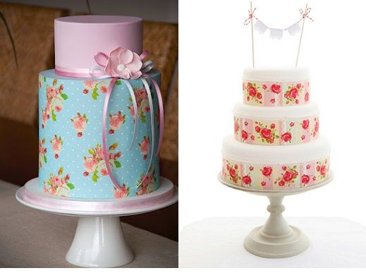 Edible Icing Sheets With Cake By Couture Cupcakes Comau