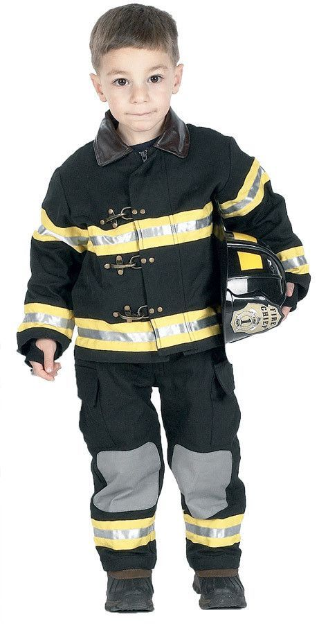 Boy\u0027s Costume Fire Fighter-Small 4-6Adjustable hard helmet - cool halloween costume ideas for guys