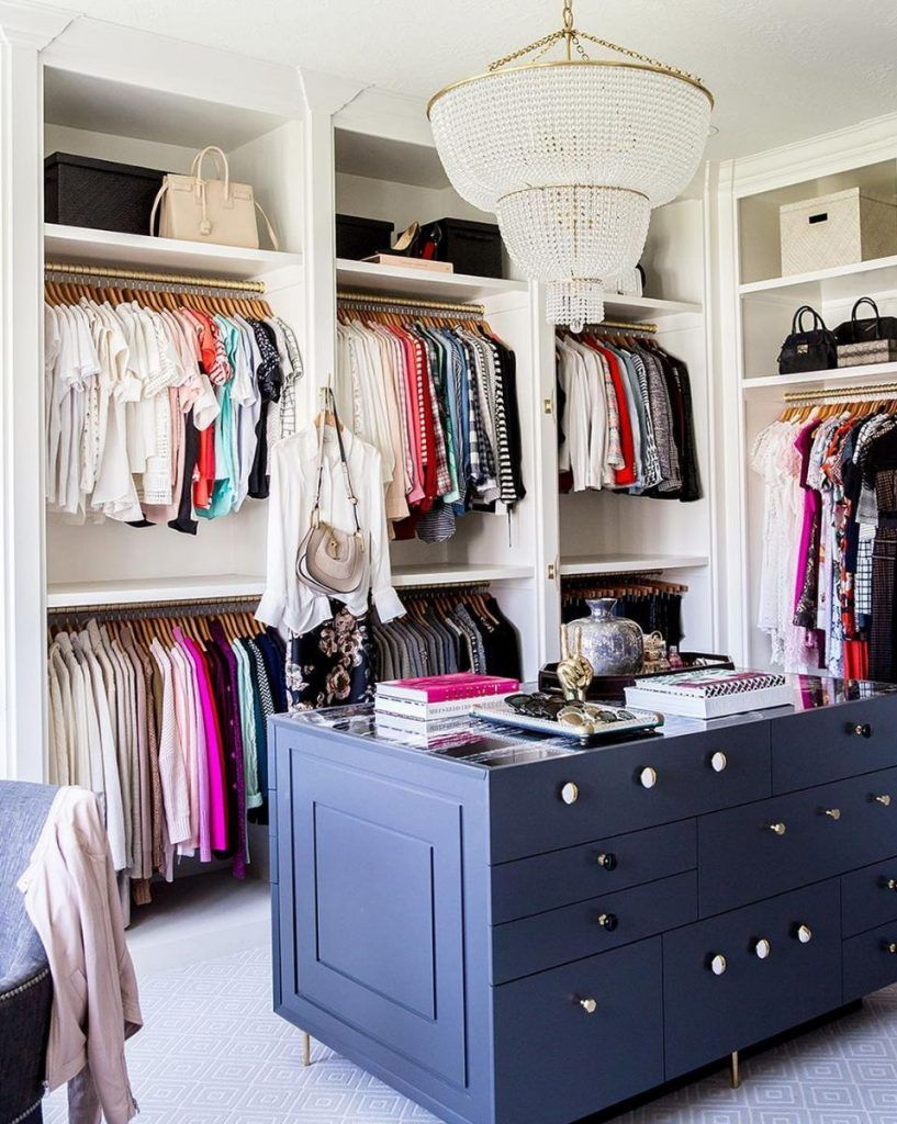 19 Ways To Make Your Walk In Closet Look Ridiculously Chic Closet Designs Room Closet Closet Design
