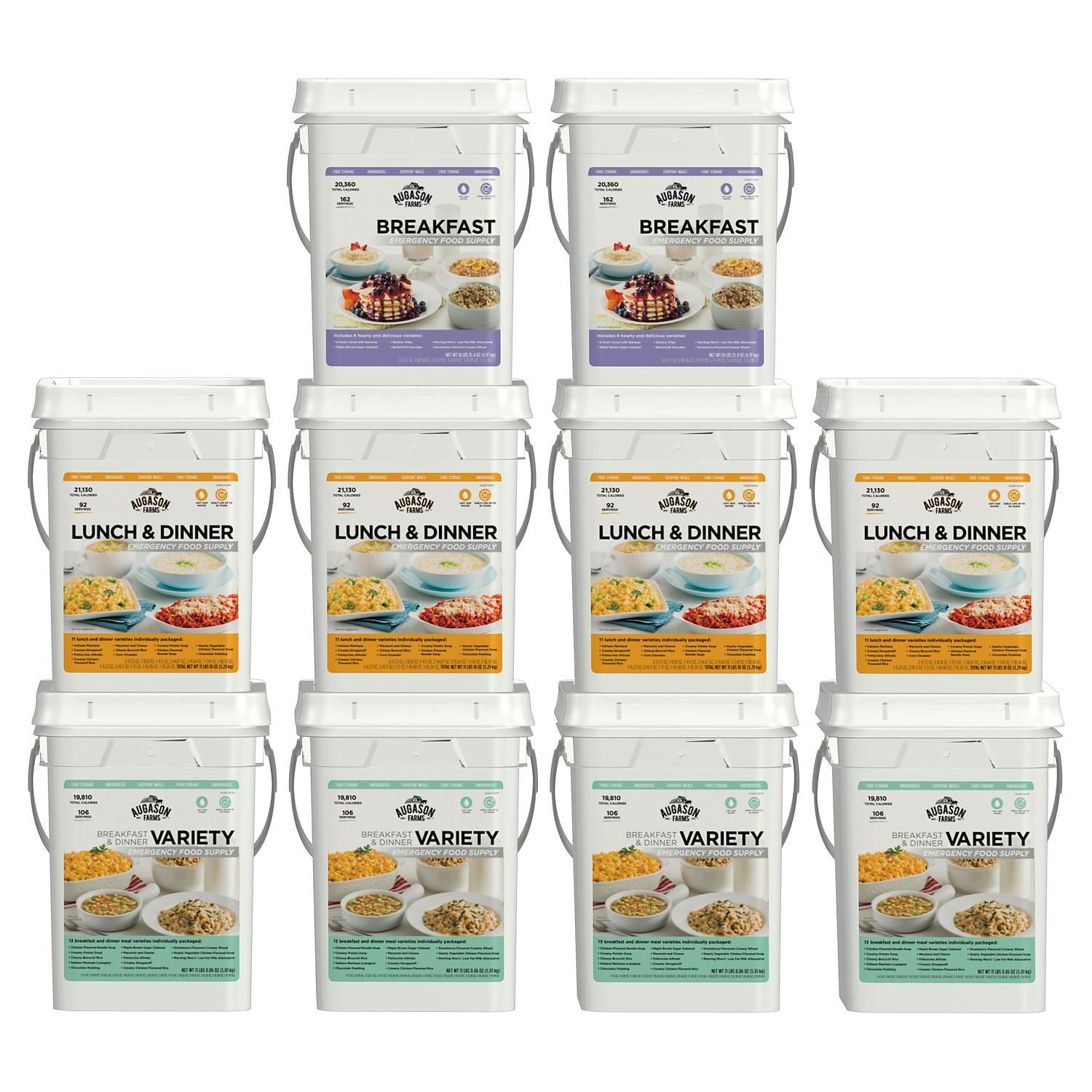 Augason farms emergency food supply kit 1 month 4 people