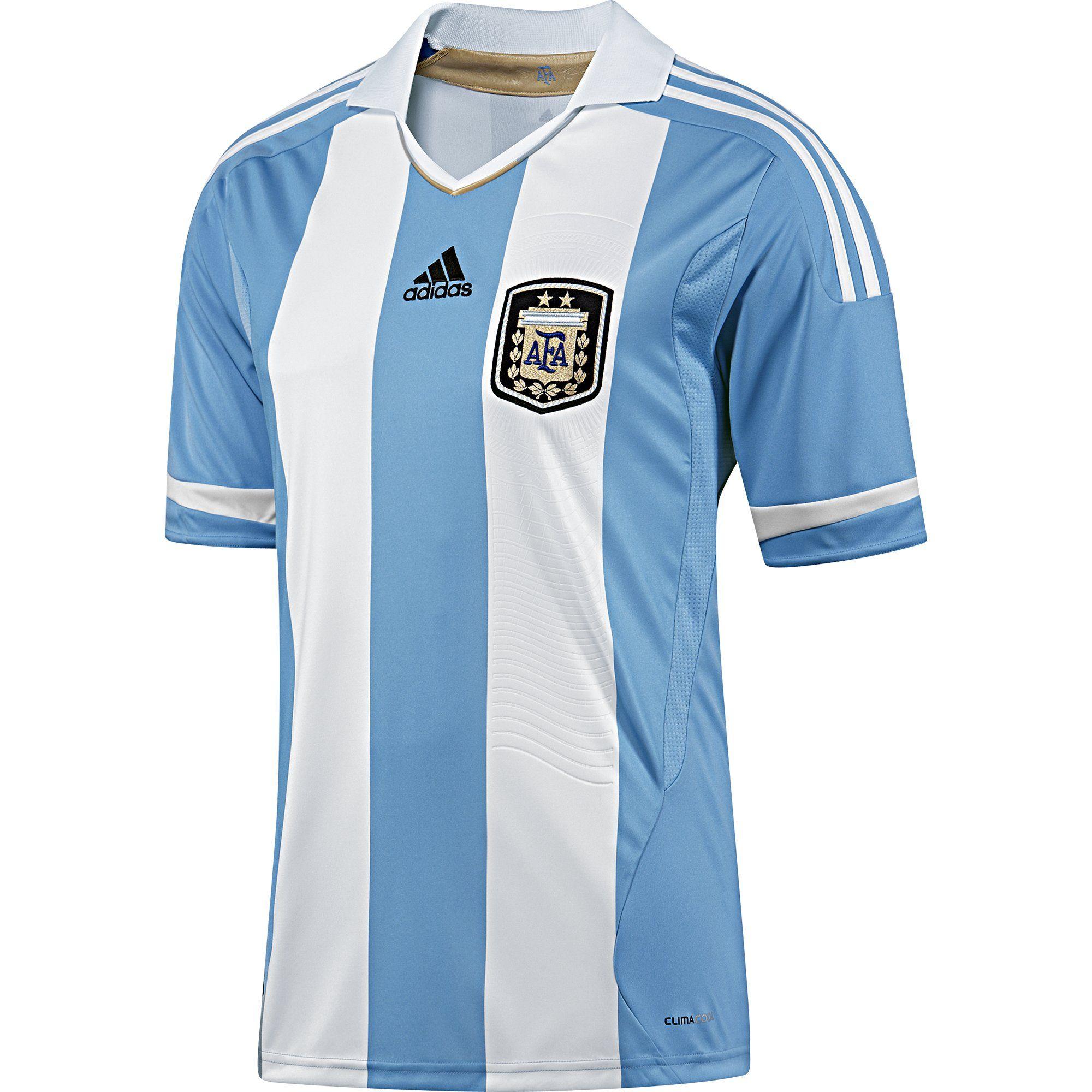 fa629d841b Argentina (Asociación del Fútbol Argentino) - 2011 Copa América Adidas Home  Shirt