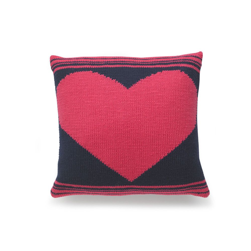 FREE Patterns: Valentine Cushions and Candle Warmer knitting ...