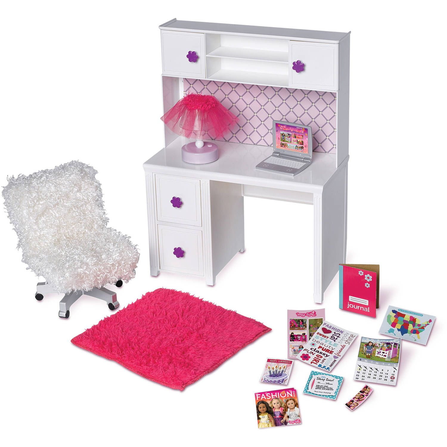 Resultado De Imagen Para Barbie Desk Entertainment Center
