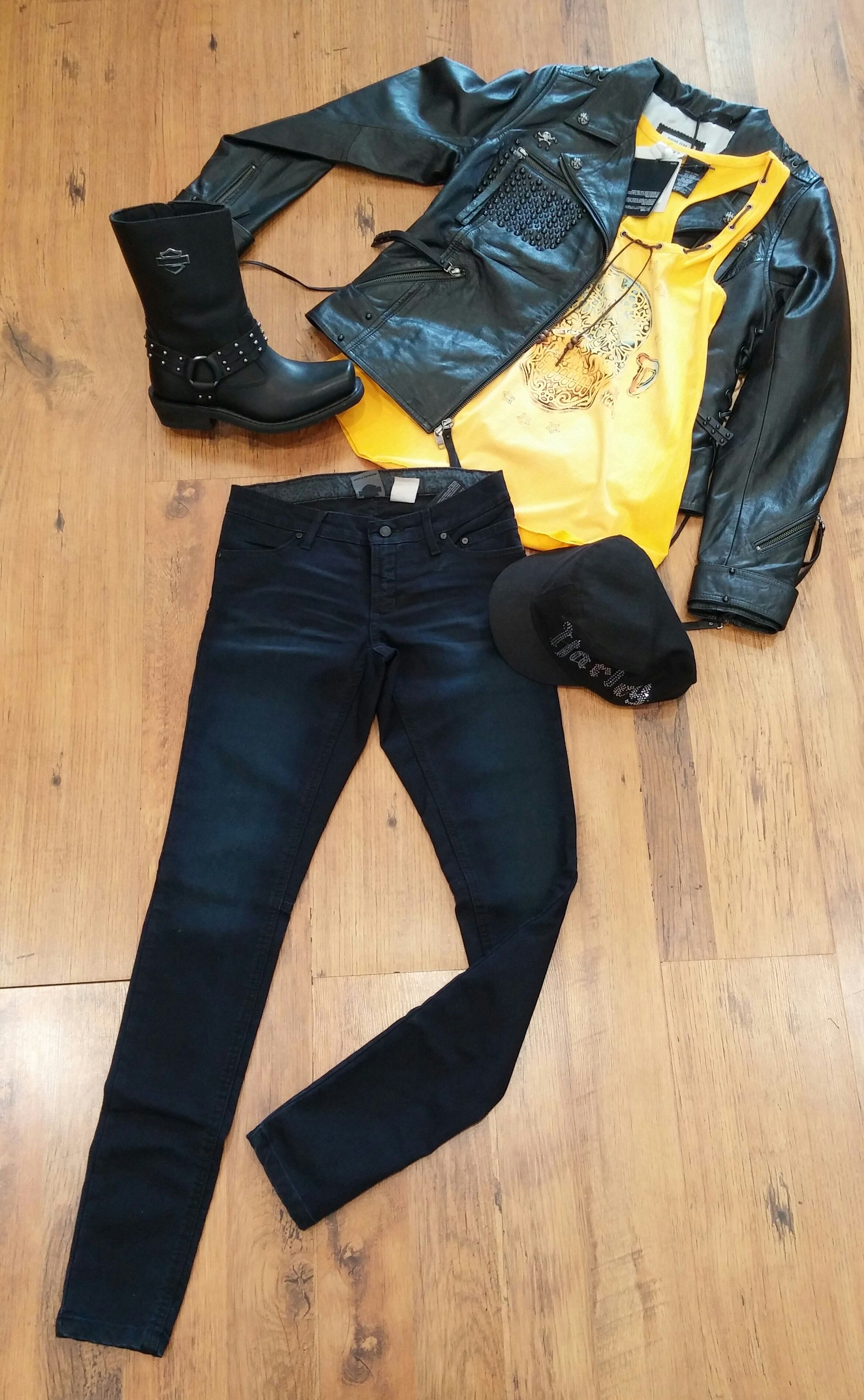 Outfit Ideas Harley Davidson Motorclothes Clothes Fashion Outfits