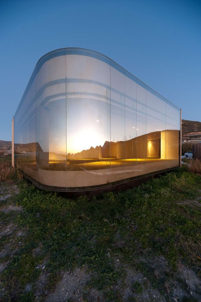 Non Program Pavilion is in the South of Spain, close to Mediterranean Sea & surrounded by a remarkable landscape.