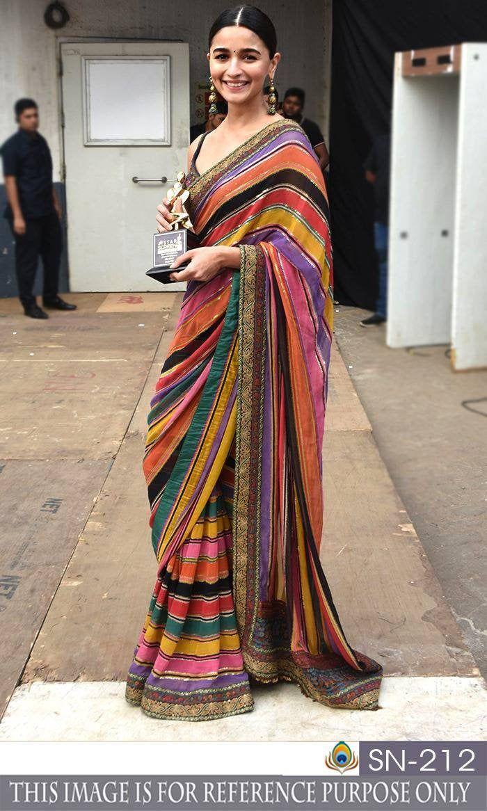 Photo of Exclusive Saree wedding wear saree party wear saree Indian saree Bollywood Style Designer Saree indian woman saree whollsell saree