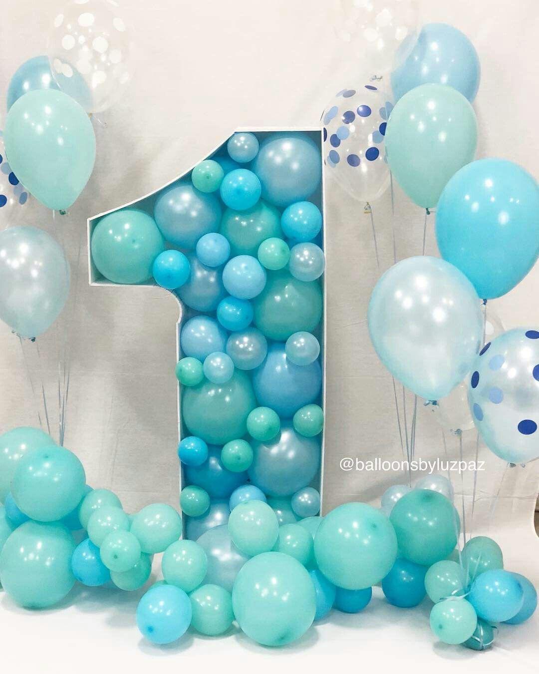 Treyden 1 Year Baby Birthday Decorations Boy Birthday