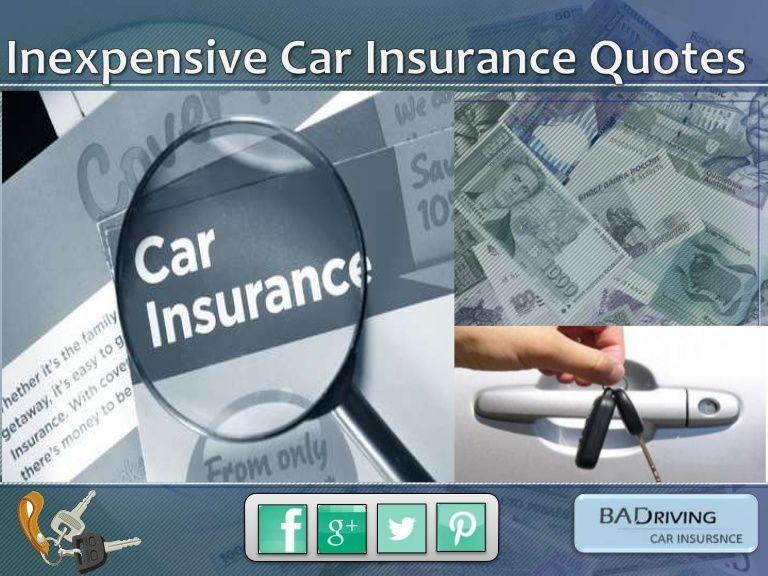 insurance Inexpensive car insurance, Cheap car