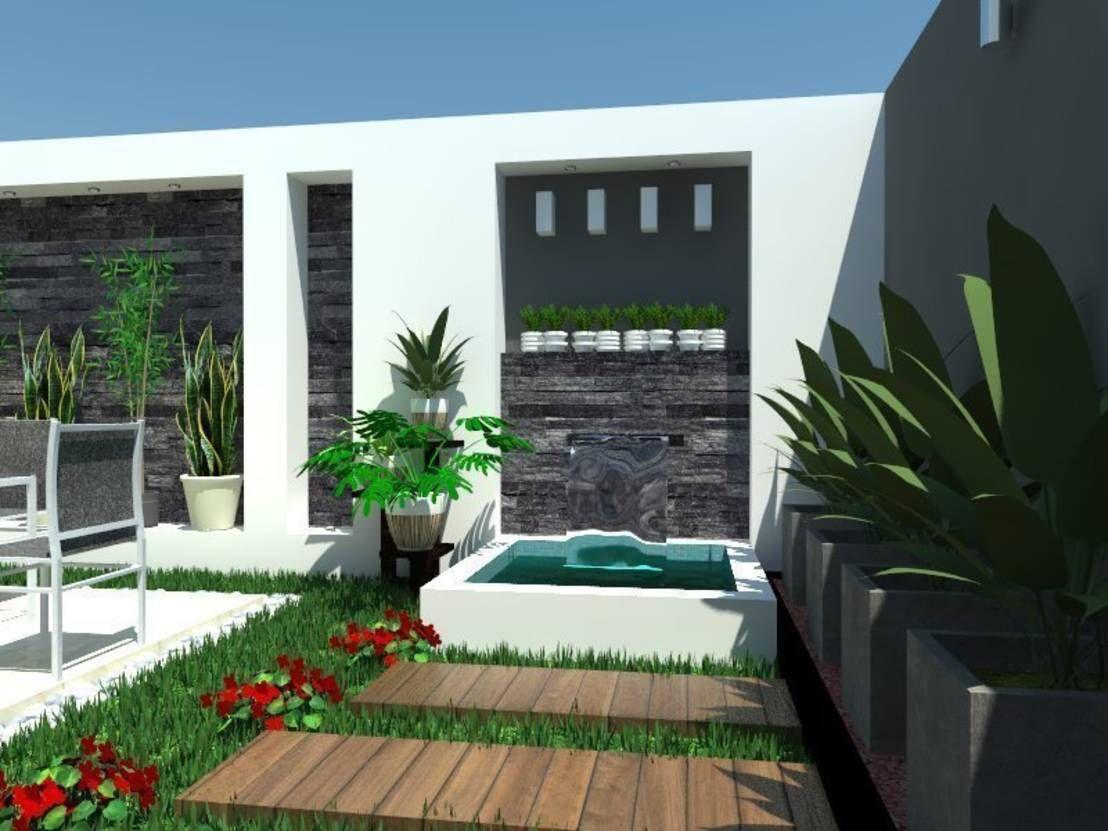Jardín pequeño: ¡5 ideas para crecer tu espacio!   Jardines pequeños ...