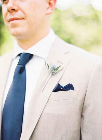 navy + tan groom style | Natalie Watson #wedding