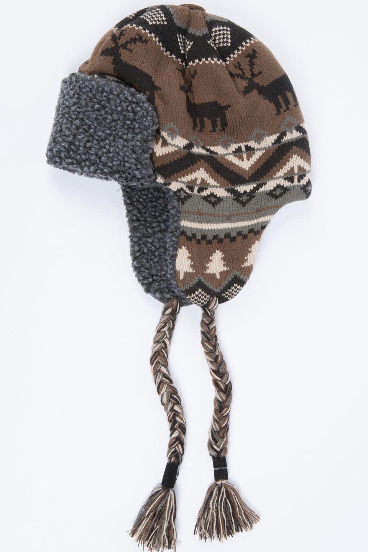 d67998fc668d7 Nordic Knit Trapper Hat In Neutral