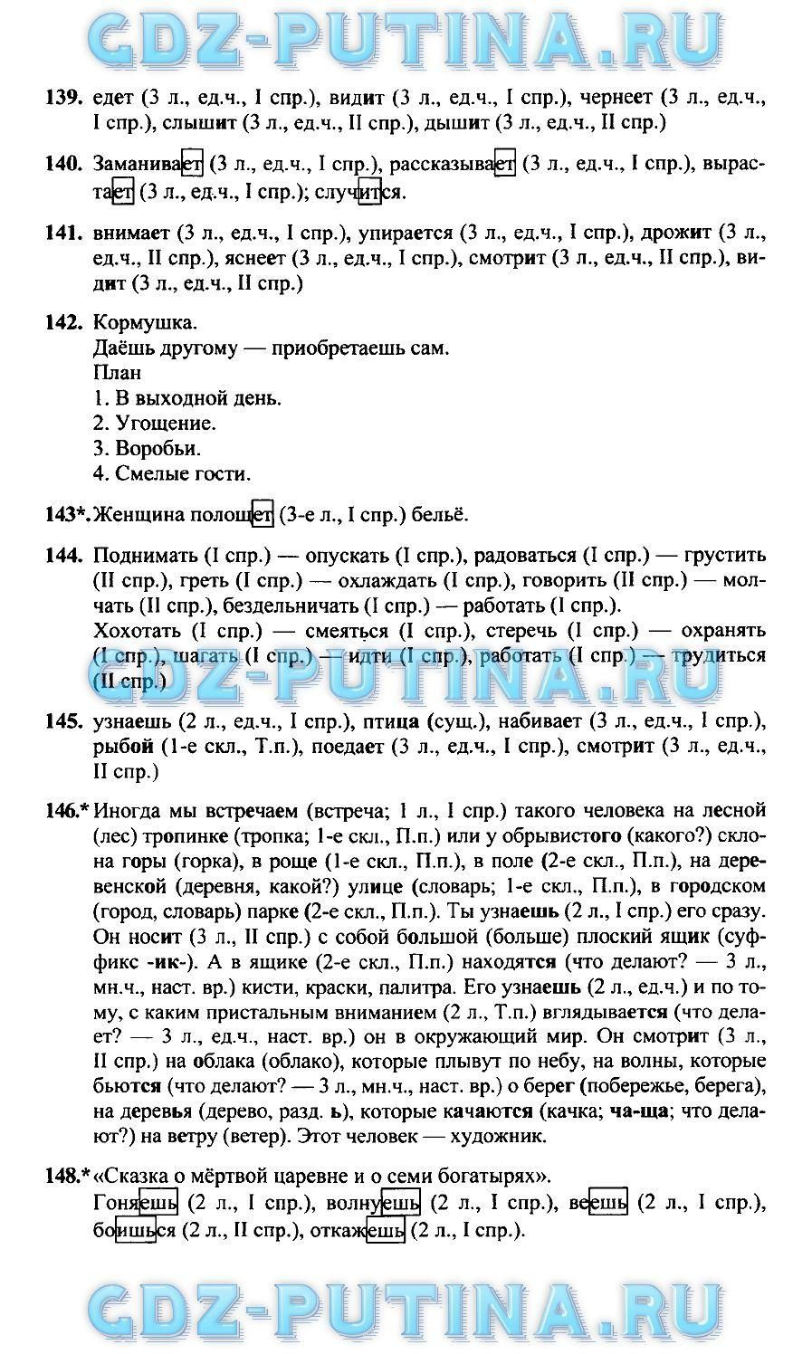 Www.slovo.ws по русскому языку 4 класс 1 часть л.м.зеленина