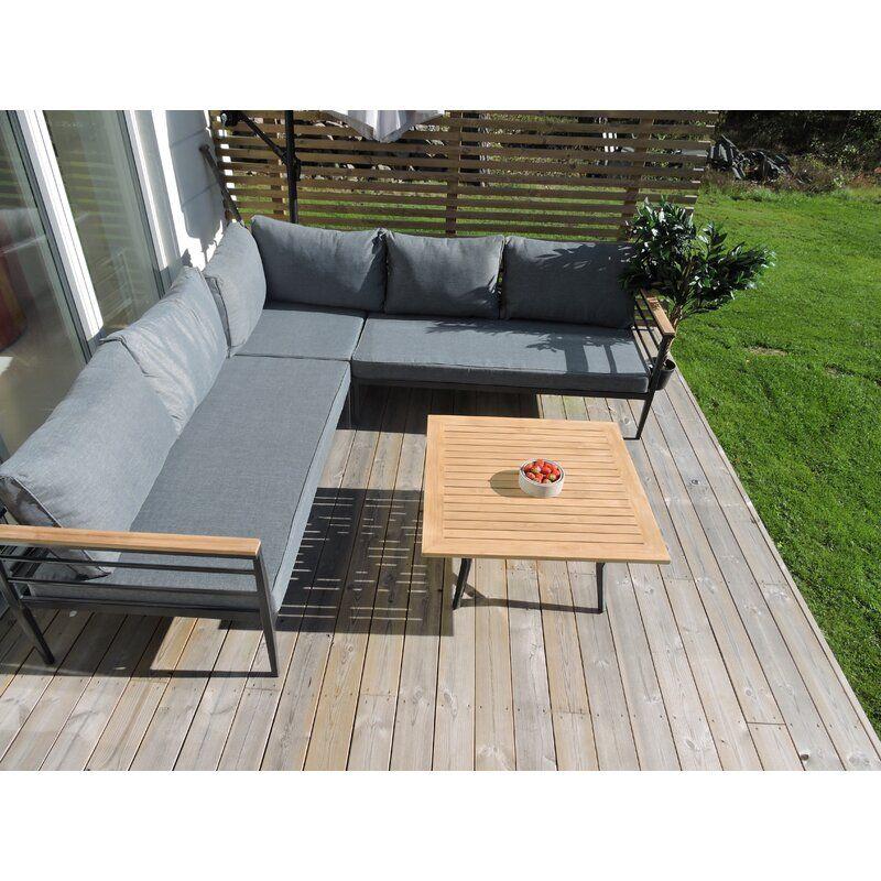 4 Sitzer Lounge Set Anoki Mit Polster Lounge Mobel Lounge Mobel Terasse Lounge