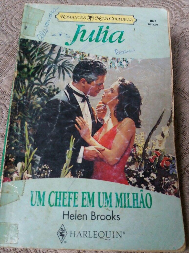 Um chefe em um milhão(JULIA) - Helen Brooks, romances da editora Nova Cultural.