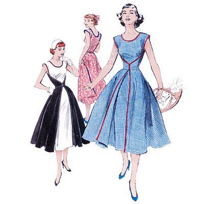 Vintage -  Kleid, BUTTERICK B4790 (34 – 40)