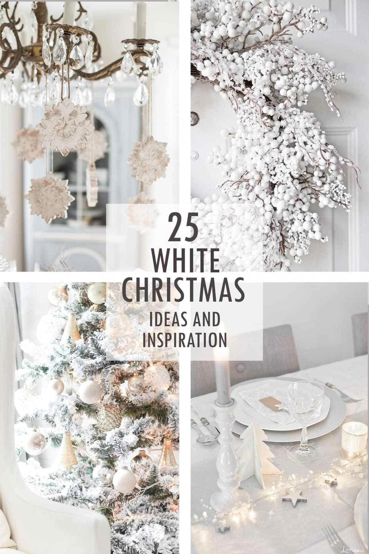After taking a gander at these 25 White Christmas ideas and ...