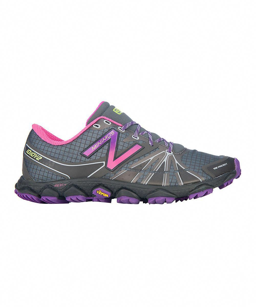 Gray & Purple 1010v2 Trail Running Shoe - Women #trailrunning
