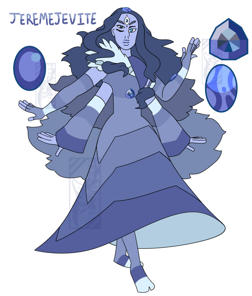 Meet Topaz The Fusion Form Of Sunstone And Moonstone Heres The