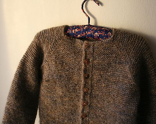Crocus cardigan by Helga Isager (knit by Gussie) in Alessandra Filati Super Kid and Isager Strik Spinni Wool 1.