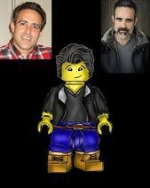 I made the voice actor for Lloydand drew him as his own Lego character I made the voice actor for Lloydand drew him as his own Lego character