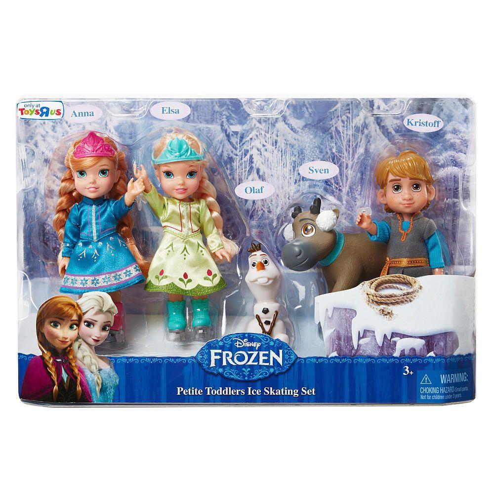 Disney frozen petite toddler ice skating gift set 5