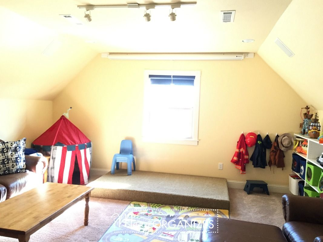 Tour My Playroom Family Room Movie Theatre All In One Room Family Room Playroom Playroom Lounge