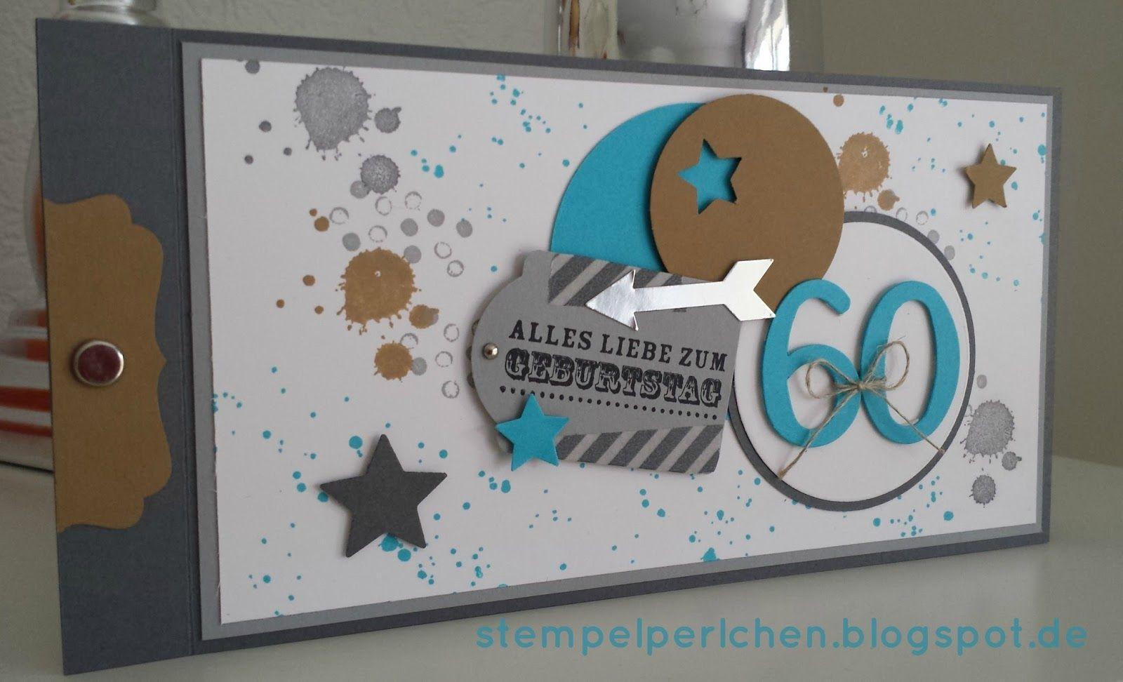 Gluckwunschkarte Die 3 Zum 60 Geburtstag Artchain