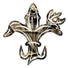 louisiana sportsman 39 s camo decal louisiana sportsmen 39 s fleur de lis pinterest. Black Bedroom Furniture Sets. Home Design Ideas