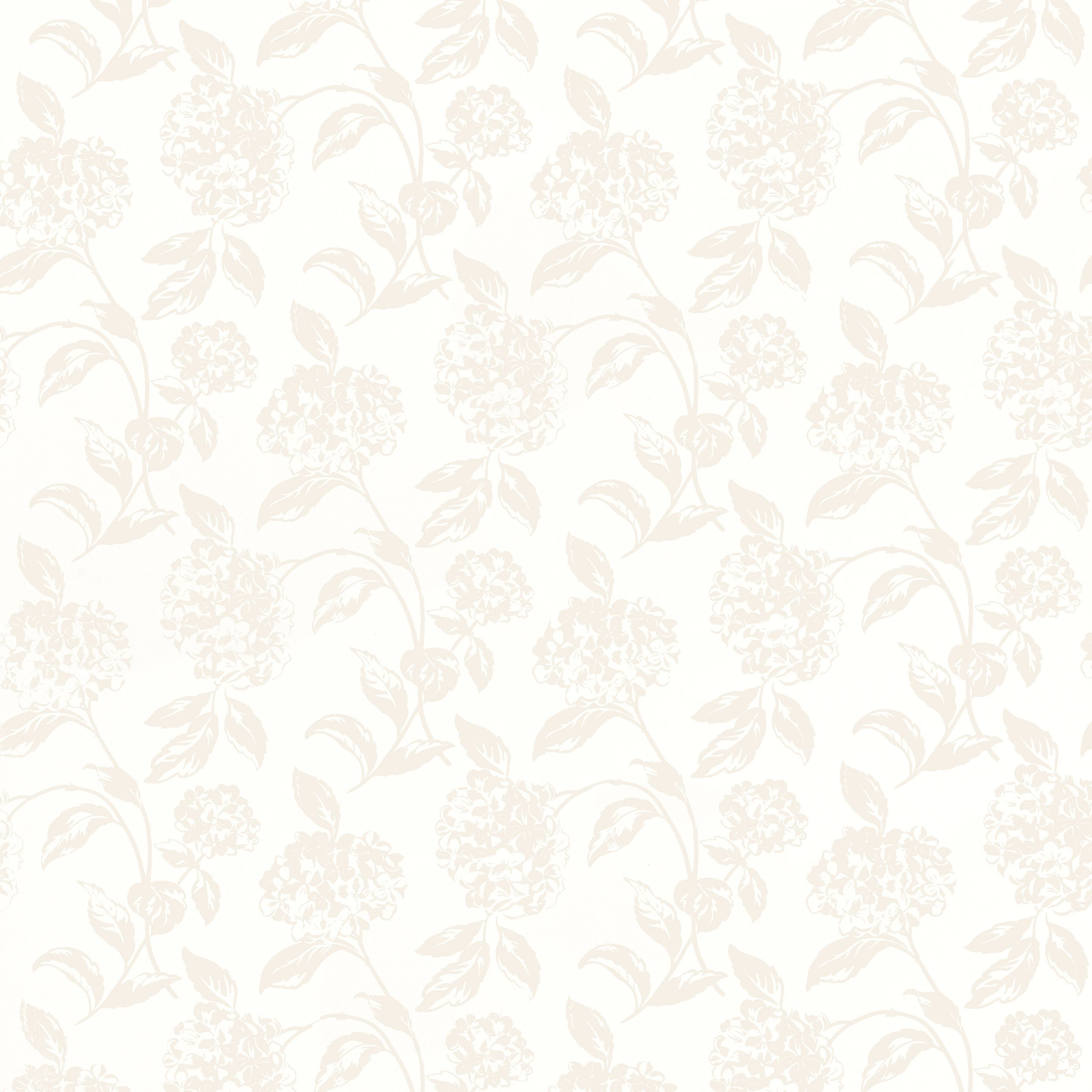 Hesta White Floral Wallpaper At LAURA ASHLEY Tapetinspiration