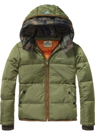 0ae76b71e70b New in the Scotch Shrunk fw14 collection  basic nylon jacket with ...