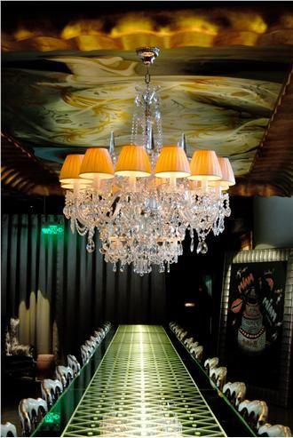 The Philippe Starck-designed, multi-restaurant LAN Club.
